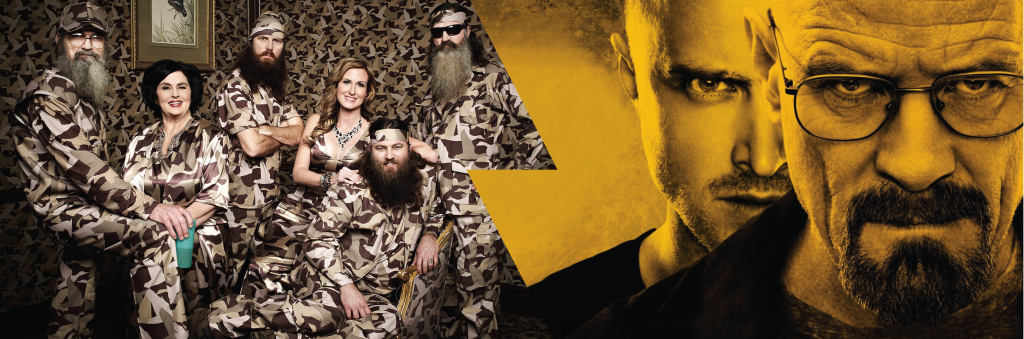 Breaking Bad v. Duck Dynasty